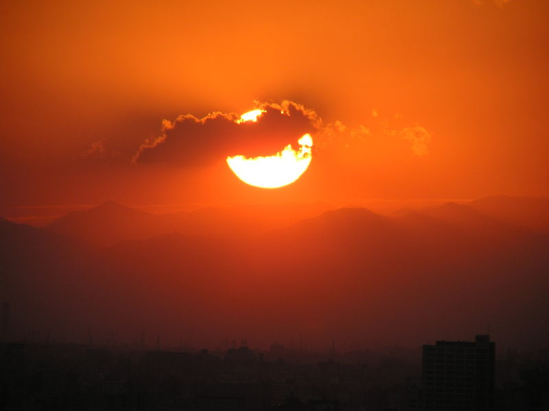 Sunset_Tokyo
