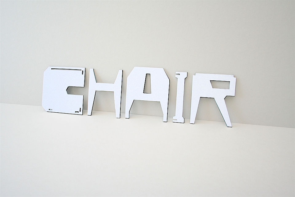 Chair (2009) by Eric Ku