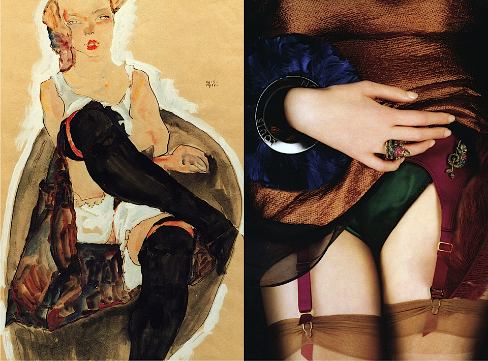art by egon schiele