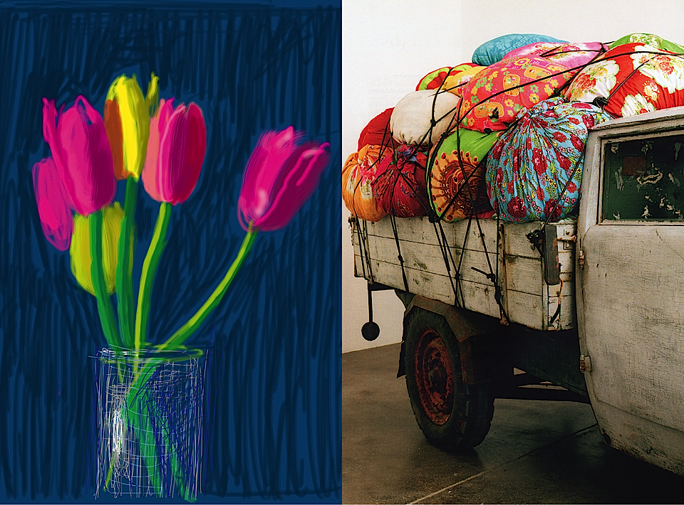 photo by thomas straub art by kimsooja 'bottari truck', 2005, photo by martin rune