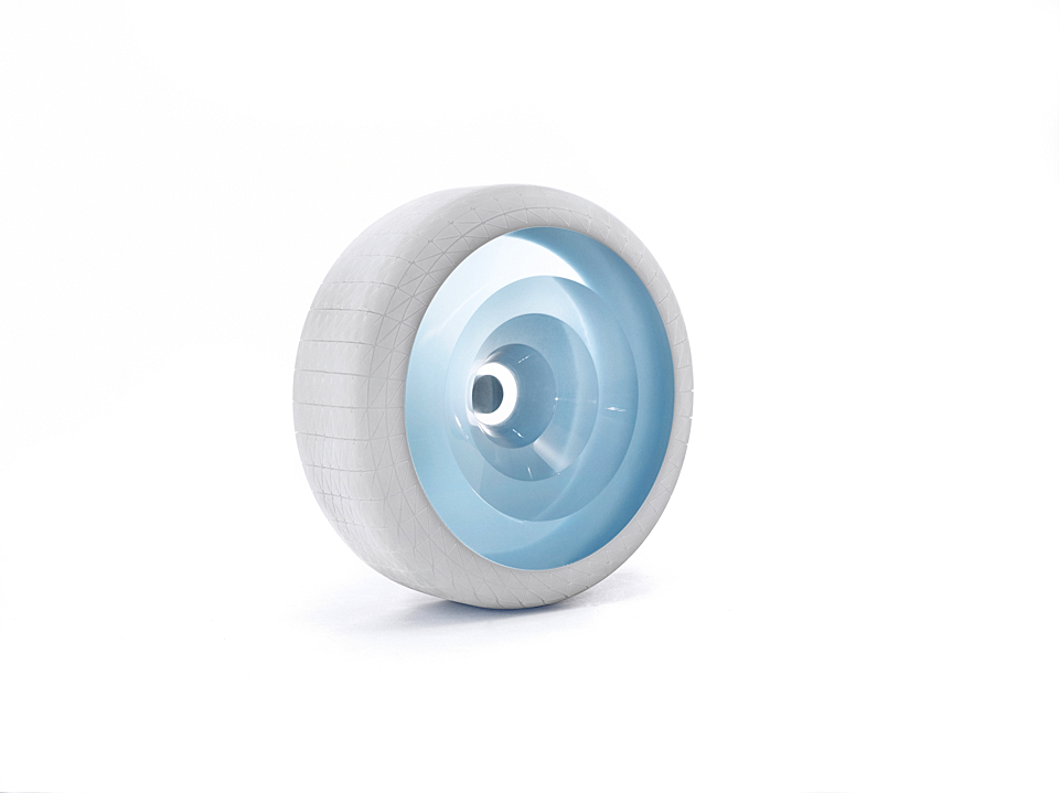 COLOUR ONE for MINI wheel (2012) by Scholten & Baijings