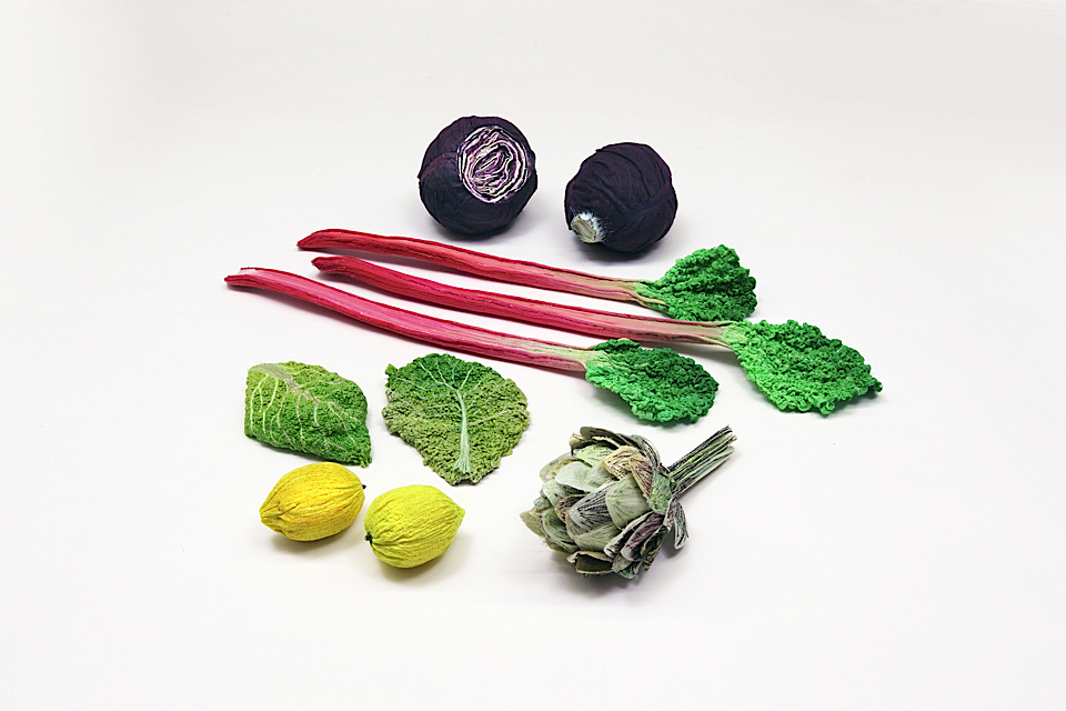 © Scholten & Baijings 2009 - Stitched Vegetables, photography Yves Krol