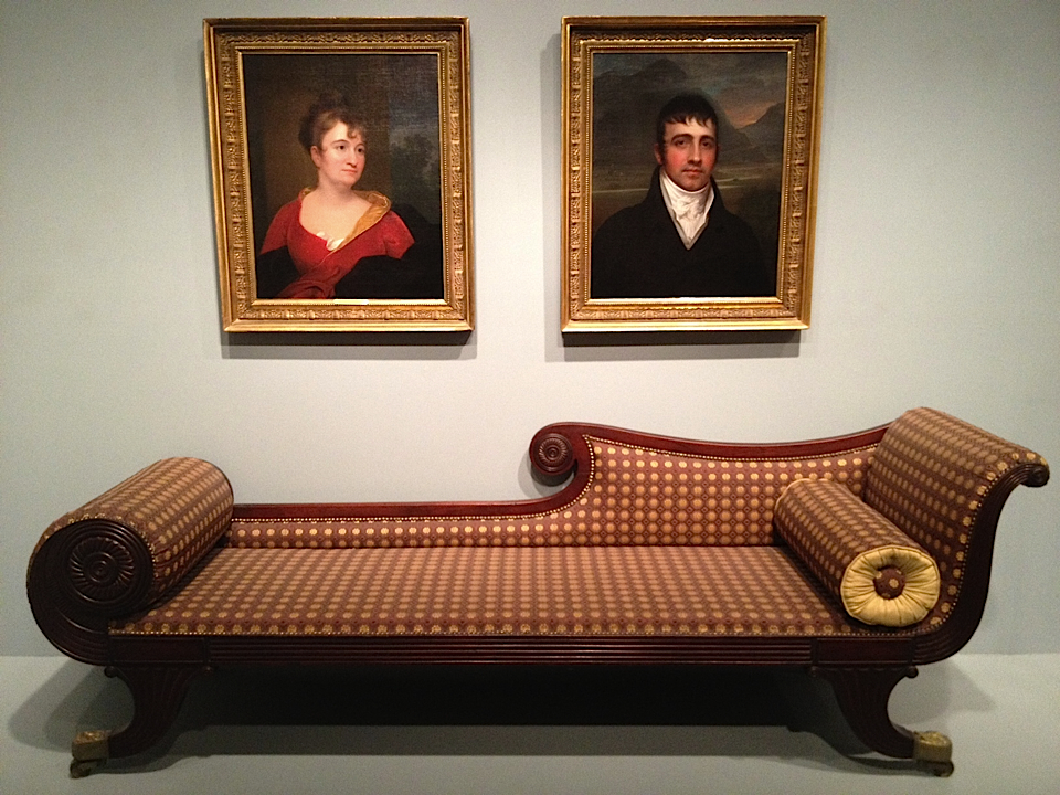 Grecian Couch 1825/40 New Yok or New England - photo by emmanuelle linard