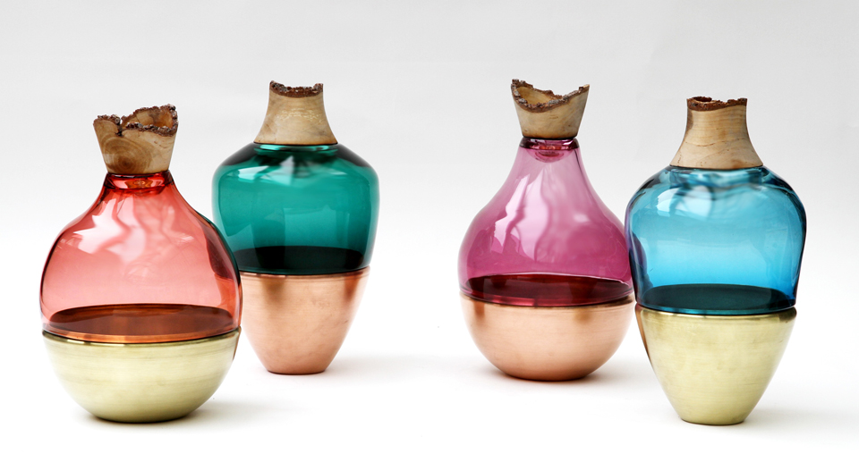 Pia Wustenberg, INDIA STACKING VESSELS