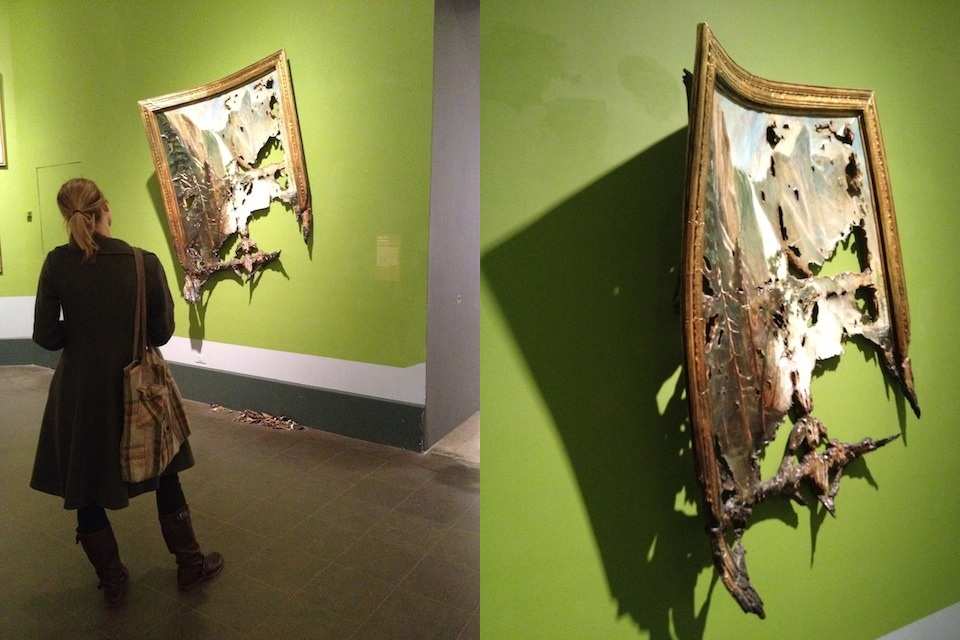 Valerie Hegarty at the BMA