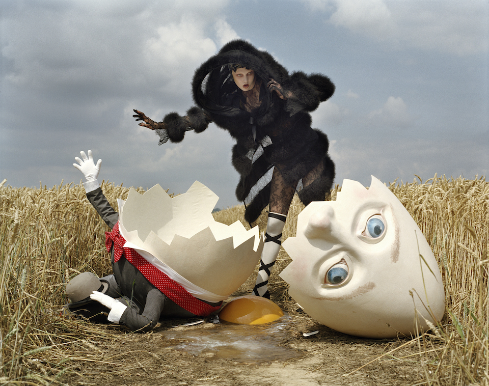 Where Troubles Melts Like Lemon drops, W October 2010 by Tim Walker