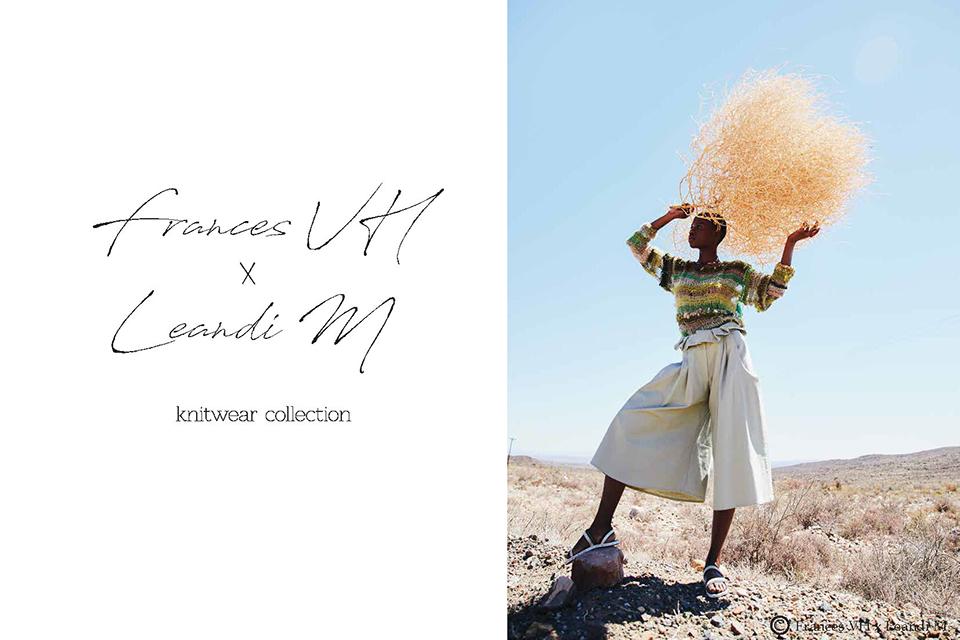 frances vh x leandi m. mohair knitwear collection